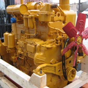 Дизельный двигатель Д-180